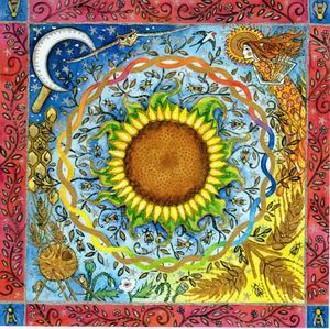 Sonnenblume-Lughnasadh