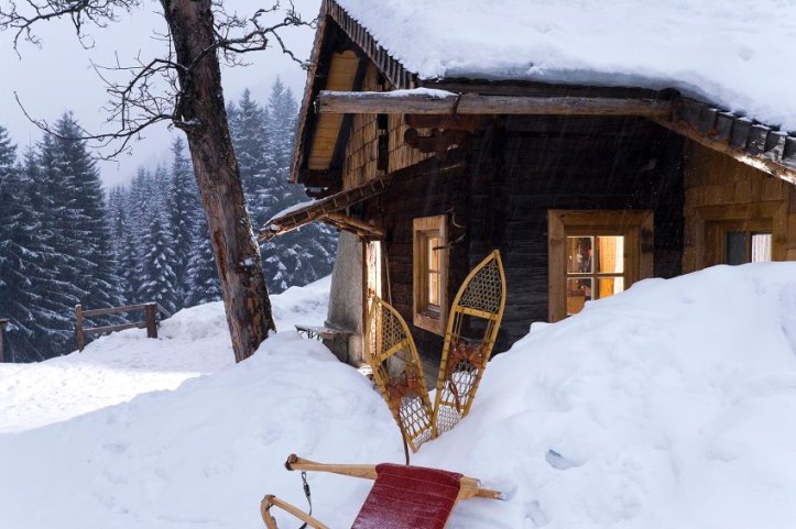 SRT-Bild / Silvester in der Skihütte